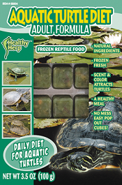 Healthy Herp Frozen Aquatic Turtle Diet Adult Formula