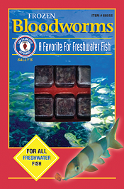 San Francisco Bay Brand Frozen Bloodworms